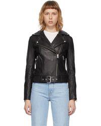 Mackage Leather Kylie Jacket - Black