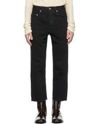 Enfants Riches Deprimes Black Faded Baggy Jeans