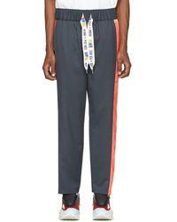 REEBOK X PYER MOSS Gray Collection 3 Elasticized Lounge Pants