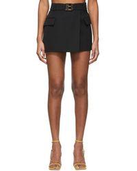 Balmain ブラック ミニスカート
