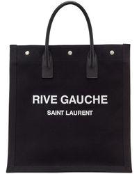 Saint Laurent Cabas noir Rive Gauche Shopping
