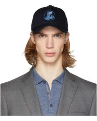PS by Paul Smith - Navy Dino Baseball Cap - Lyst