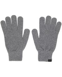 Paul Smith Cashmere Gloves Gray