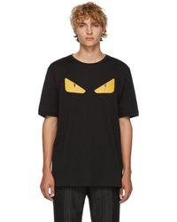 Fendi T-shirt noir Bag Bugs