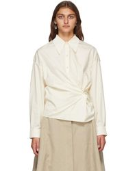 Lemaire Off-white Twisted Shirt