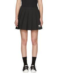 adidas Originals - Black Cirdo Skirt - Lyst