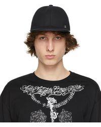 Givenchy ブラック Padlock キャップ
