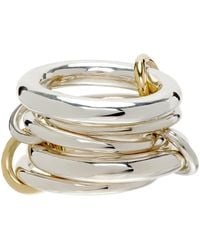 Spinelli Kilcollin Vela Five-link Ring - Metallic