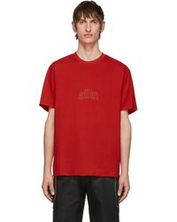all in - レッド Arc Outline T シャツ - Lyst