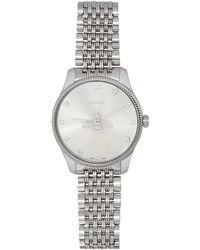 Gucci - シルバー G-timeless 腕時計 - Lyst