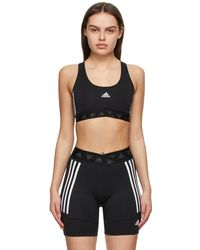 adidas Originals - ブラック Adicolor スポーツ ブラ - Lyst