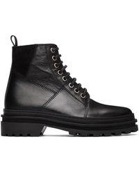 A.P.C. ブラック Marcelle ブーツ