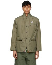 Engineered Garments Khaki K-way Edition Packable Blase 3.0 Blazer - Green