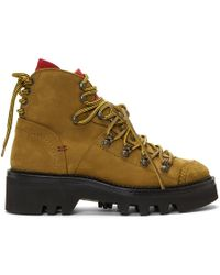 DSquared² - Brown Suede Country Mountain Boots - Lyst