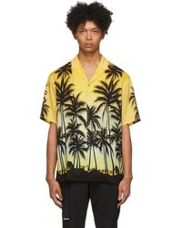 Wooyoungmi - イエロー Palm Tree シャツ - Lyst
