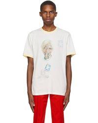 Telfar T-shirt réversible blanc cassé Coach édition Converse