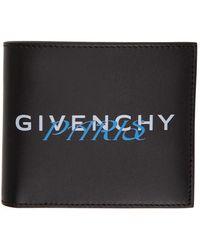 Givenchy - ブラック And ブルー Paris バイフォールド ウォレット - Lyst