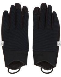Nonnative Black Hiker Gloves