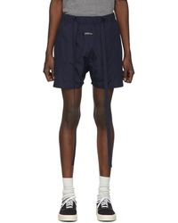 Fear Of God Navy Military Training Shorts - Blue