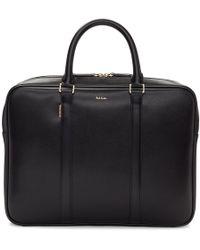 Paul Smith - Black New City Portfolio Briefcase - Lyst