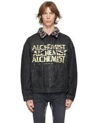 Alchemist ブラック デニム Too Young To Die ジャケット