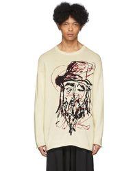 Yohji Yamamoto オフホワイト Yohji セーター