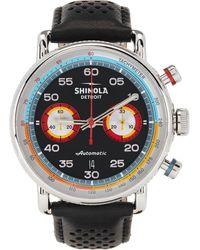 Shinola ブラック & マルチカラー The Canfield Speedway Tachymeter Automatic 44mm 腕時計