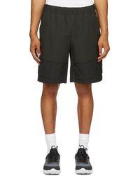 Nike Black Sportswear Tech Pack Cargo Shorts