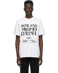 Total Luxury Spa White 'nor Any Drop' T-shirt