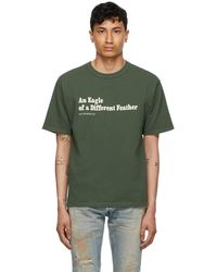 Reese Cooper - グリーン Eagle Of A Different Feather T シャツ - Lyst