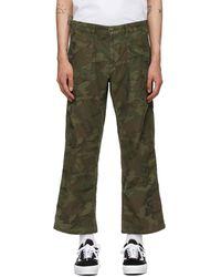 Neighborhood Khaki Baker Trousers - Green
