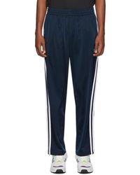 adidas Originals ネイビー Firebird トラック パンツ - ブルー