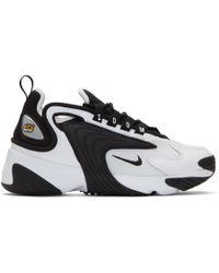 new concept b6140 837f8 Nike - White And Black Zoom 2k Sneakers - Lyst