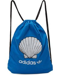 Noah Adidas Originals Edition ブルー Shell ドローストリング バックパック