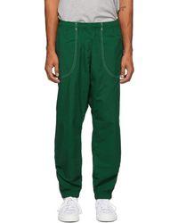 adidas Originals グリーン サマー B-ball トラック パンツ