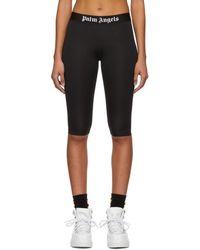 Palm Angels - Black Cyclist Shorts - Lyst
