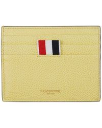 Thom Browne - Yellow Double Sided Card Holder - Lyst