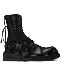 Marsèll ブラック Musona ブーツ