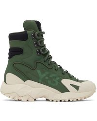 Y-3 Notoma Boots - Green