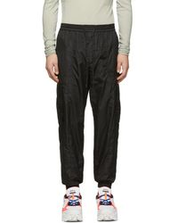 Juun.J - Black Jogging Cargo Pants - Lyst