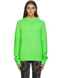 Extreme Cashmere グリーン カシミア Bourgeois セーター