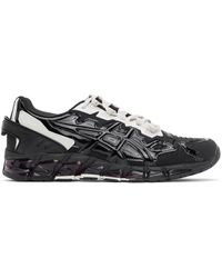 GmbH Black And Gray Asics Edition Gel-quantum 360-6 Low-top Sneakers