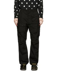 Engineered Garments - ブラック カーゴ パンツ - Lyst