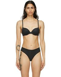 Skims Black Fits Everybody Push-up Bra
