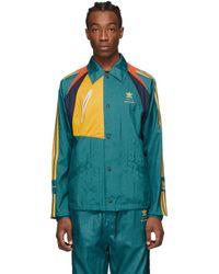 BED j.w. FORD Adidas Originals Edition グリーン And マルチカラー ベンチ ジャケット