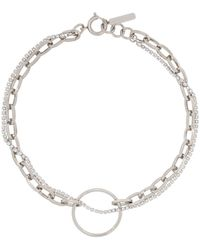 Justine Clenquet Silver Lina Choker - Metallic