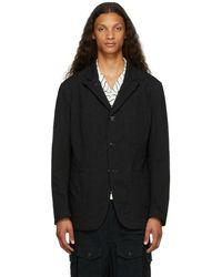 Engineered Garments ブラック Bedford ジャケット