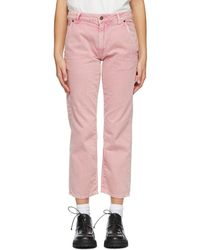 6397 Pink Carpenter Jeans