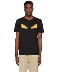 Fendi - Black Bag Bugs T-shirt - Lyst
