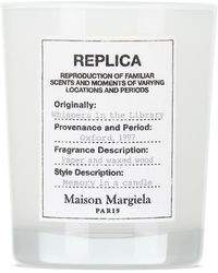 Maison Margiela Replica Whispers In The Library Candle, 5.82 Oz - White
